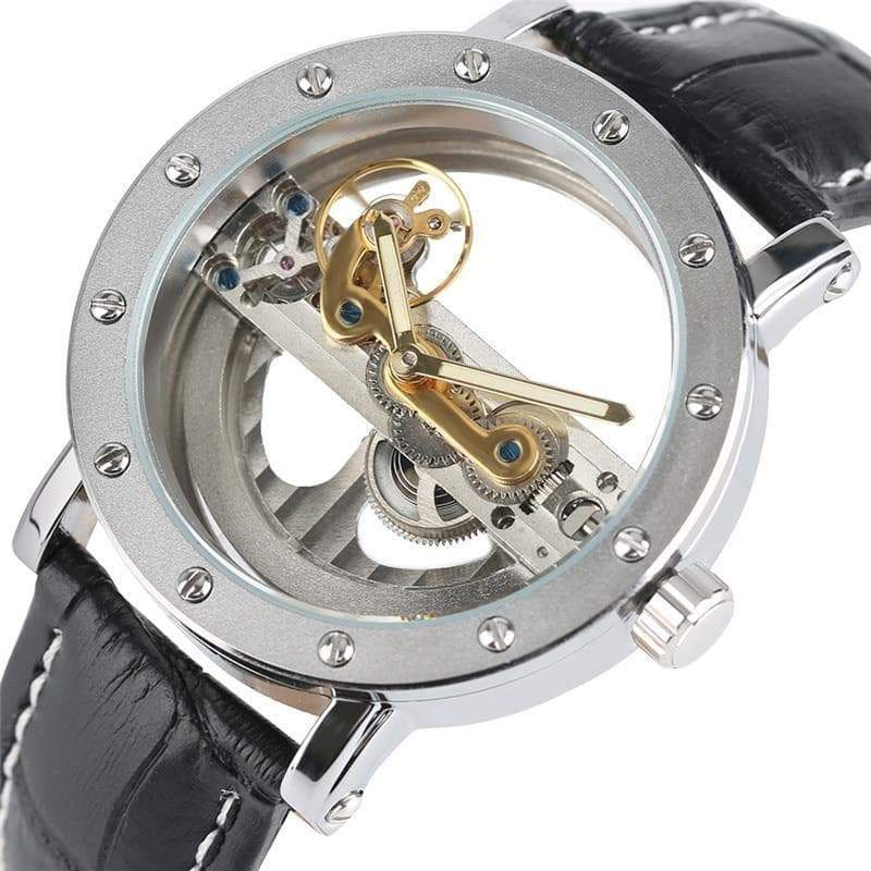 automatic skeleton watch for men Style