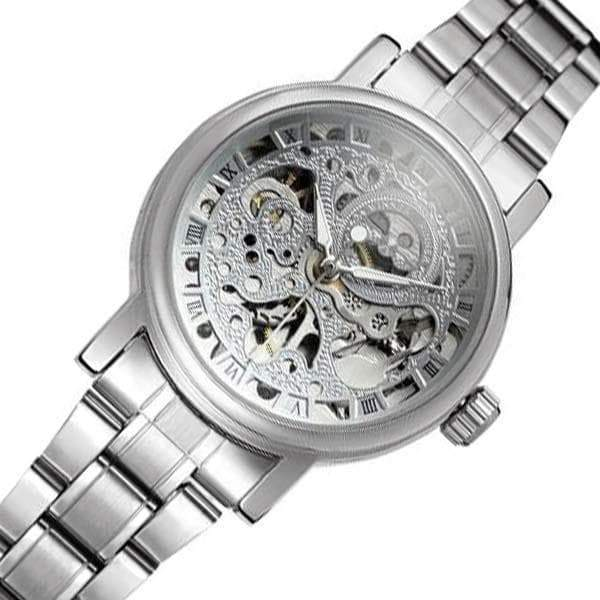 automatic skeletonized women's watch 2020