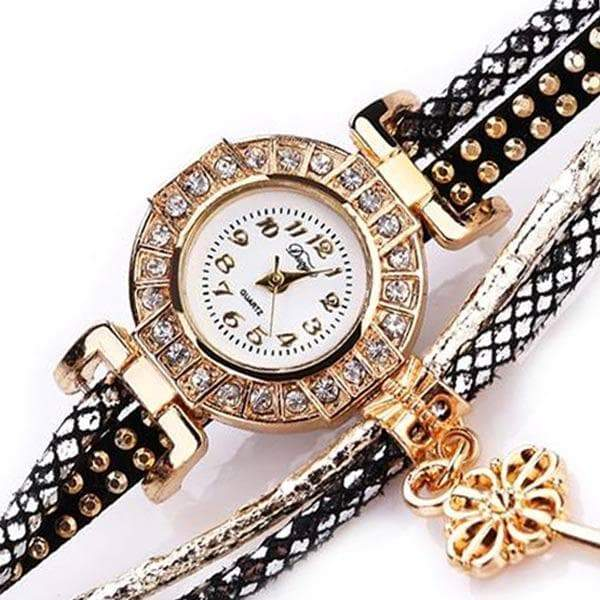 fancy women's watch leather strap renaissance