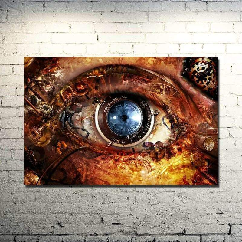 paint eye steampunk store Gothic