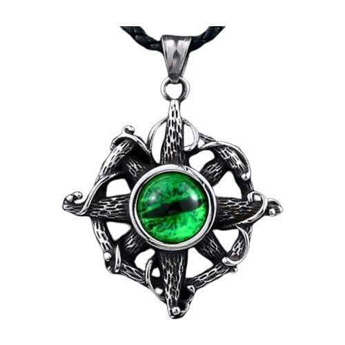 Pendant steampunk devil one