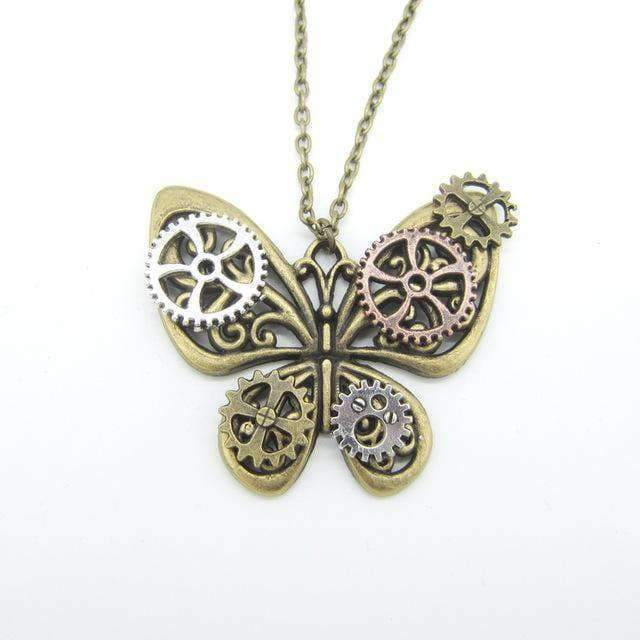 mechanical butterfly pendant cosplay