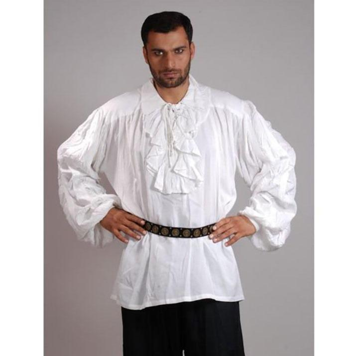 pirate shirt with frill mode