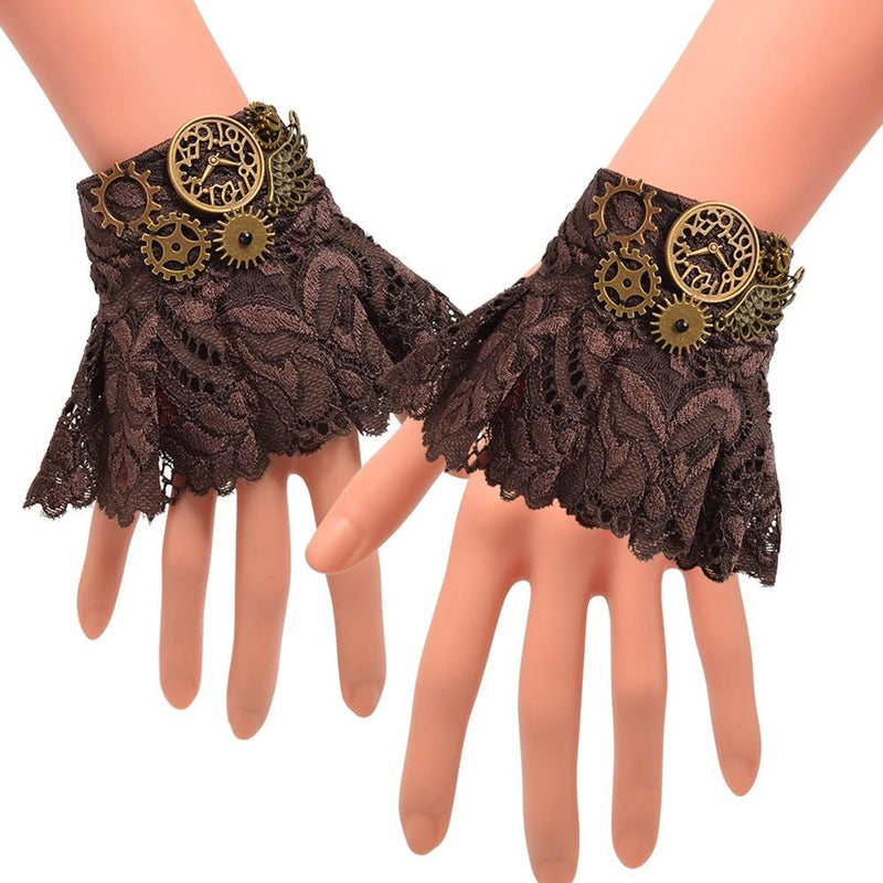 steampunk gloves woman Dieselpunk