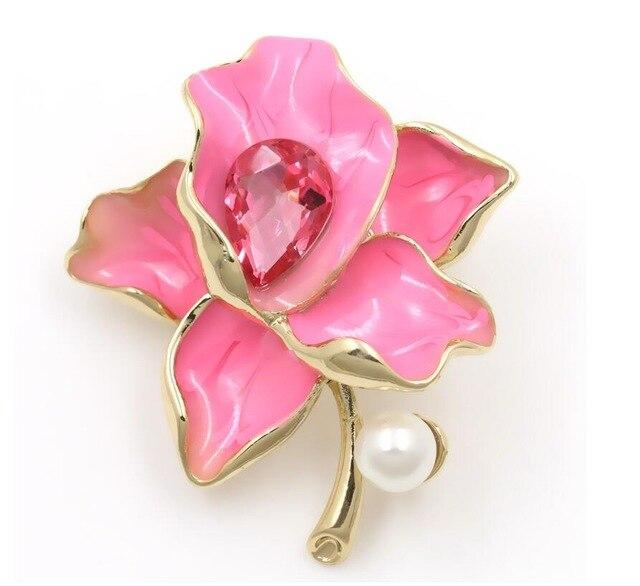flower brooch Victorian