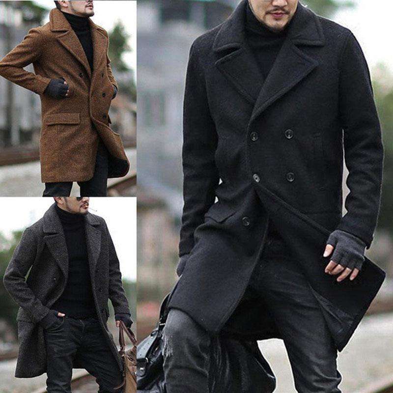 men's fall long coat cosplay