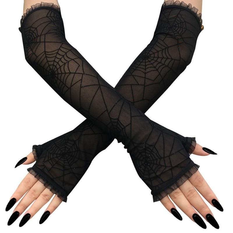 gothic glove woman cosplay