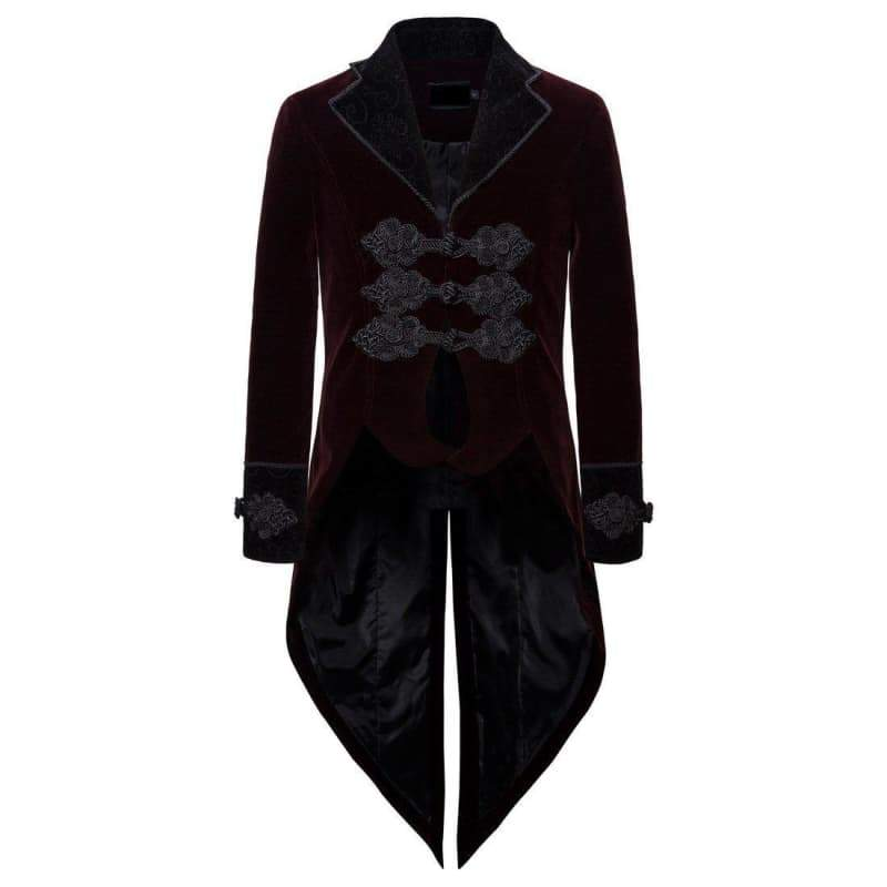 Jacket steampunk tail