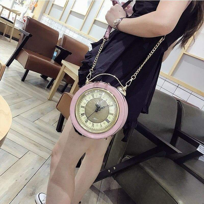steampunk clock bag 2020