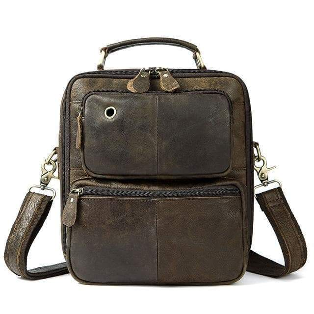 steampunk bag man Dieselpunk