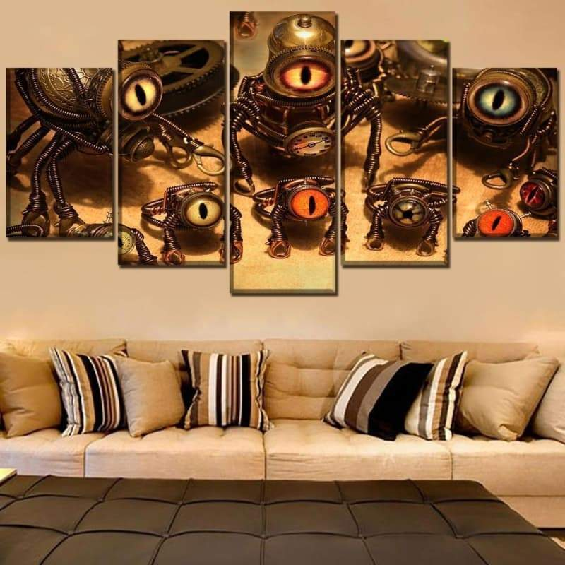 Table steampunk minions