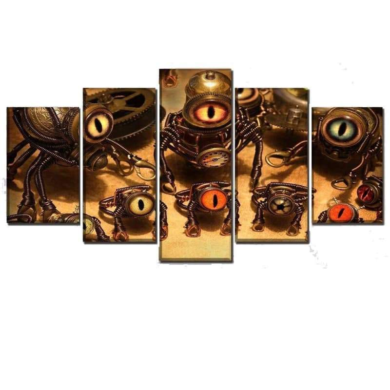 minion steampunk painting Gothic