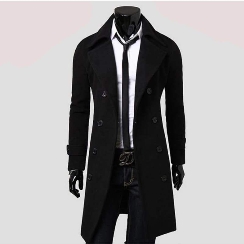 trench coat manteau long homme steampunk store Gothic