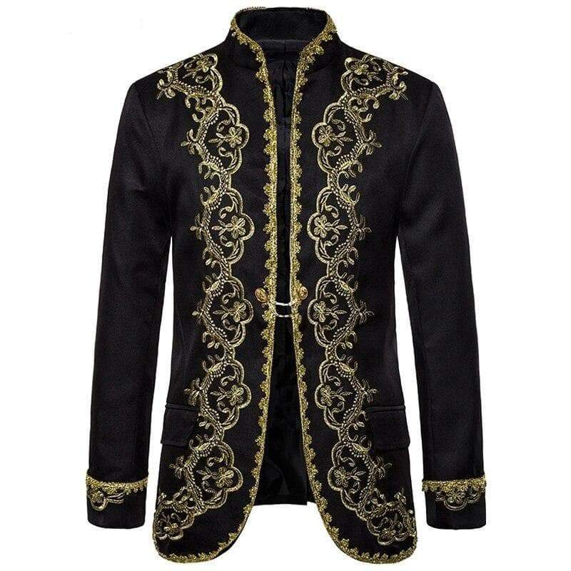 Steampunk buckingham jacket