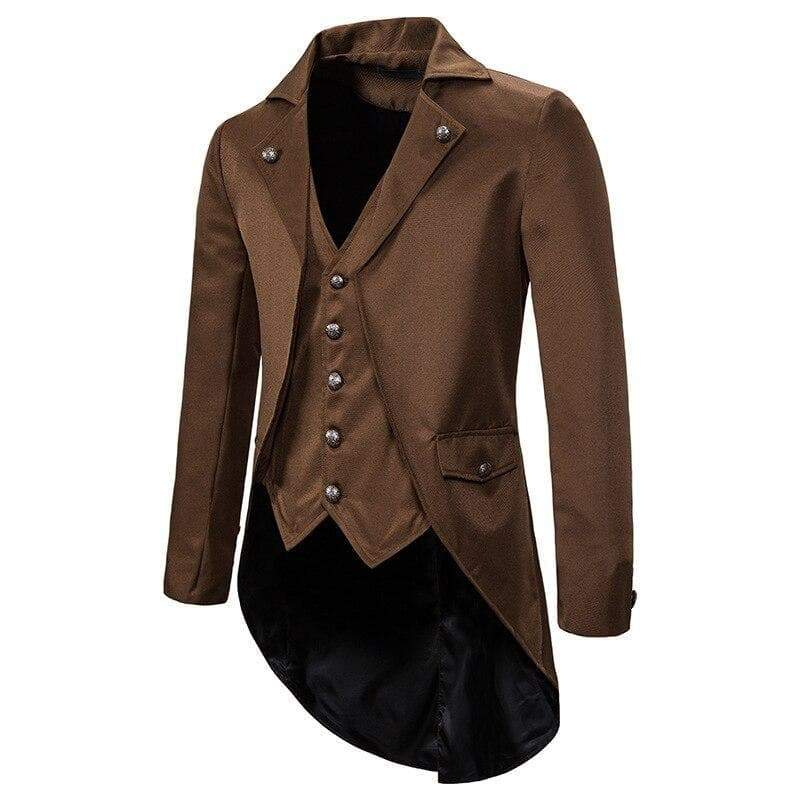 Steampunk jacket redingote of yesteryear