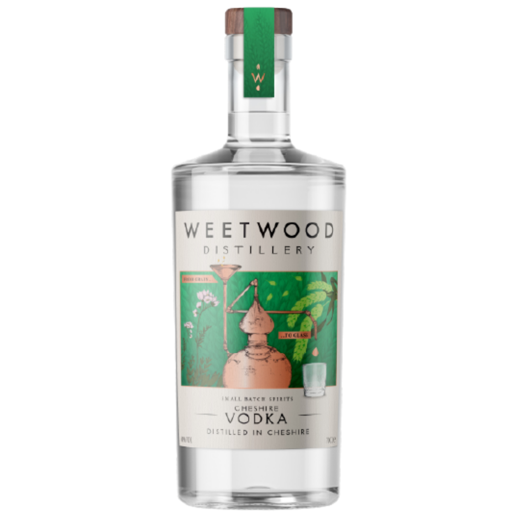 Weetwood Cheshire Vodka 40% 70cl