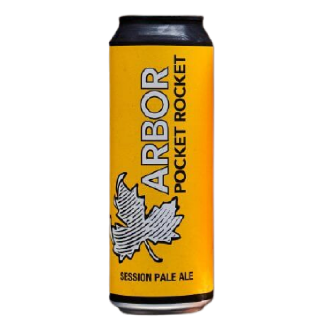 Arbor Pocket Rocket Session IPA 3.9% 568ml