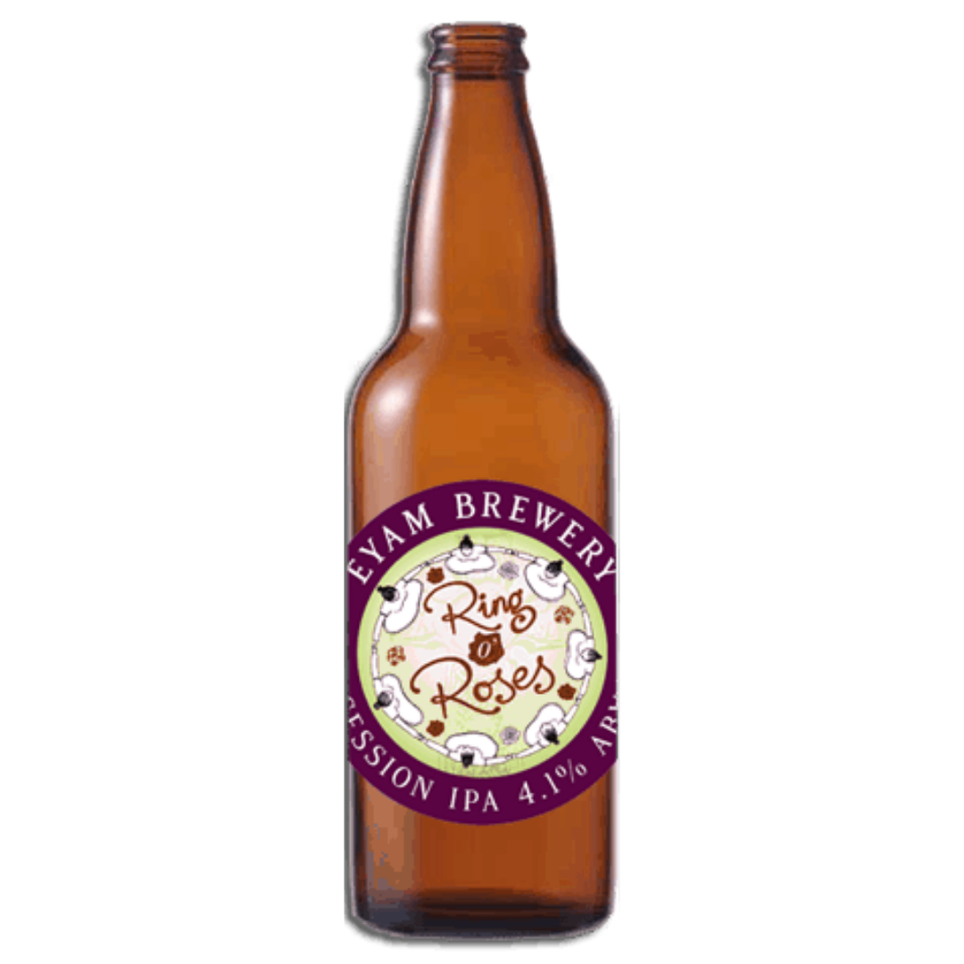 Eyam 'Ring O Roses' Session IPA 4.1% 500ml