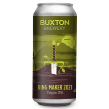 Load image into Gallery viewer, Buxton Kingmaker Triple IPA 10.5% 440ml