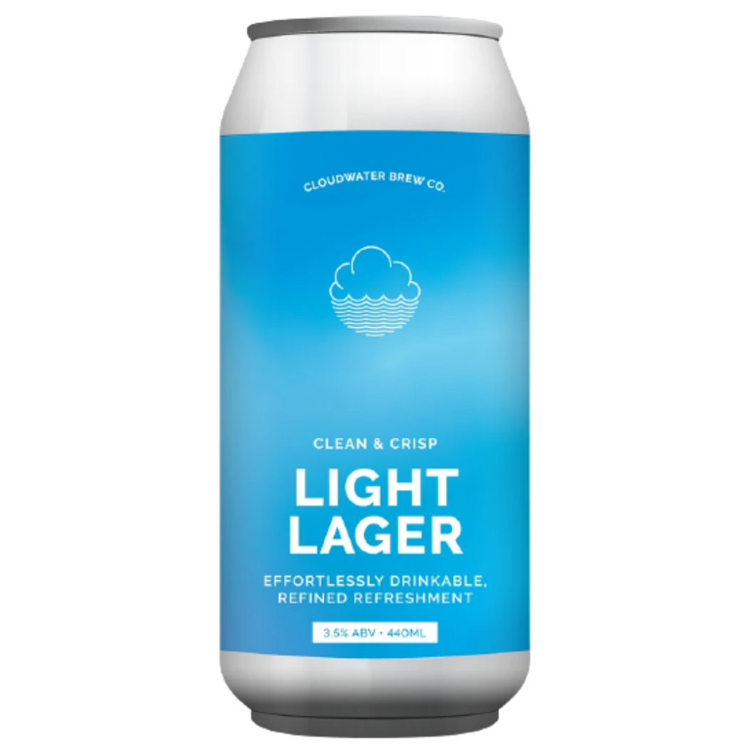 Cloudwater Light Lager 3.5% 440ml