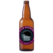 Load image into Gallery viewer, Eyam Black Death Vanilla Stout 7% 500ml