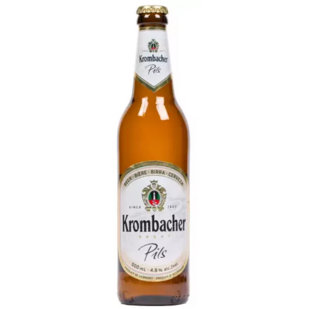Krombacher Pils 4.8% 500ml