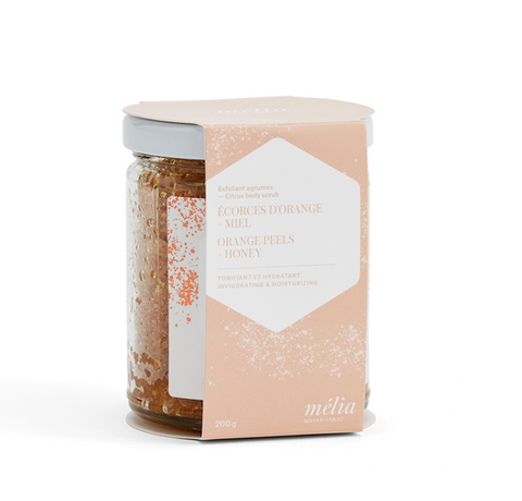 Citrus Exfoliant | Orange peels and honey 200g