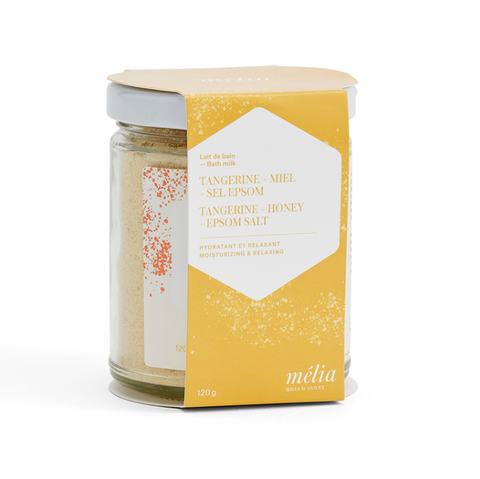 Soothing Milk | Tangerine + Honey + Epsom 120g