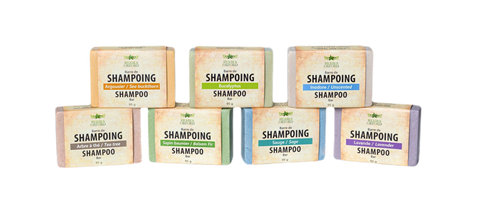 Vegan, eco-friendly, biodegradable shampoo bar