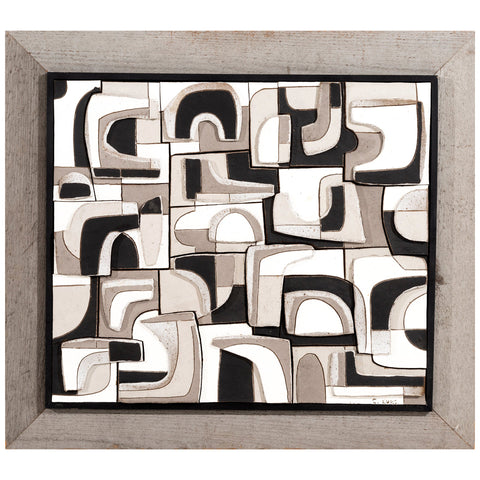 Clyde Burt Ceramic Wall Art