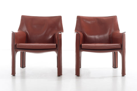 Mario Bellini Cab Lounge Chairs