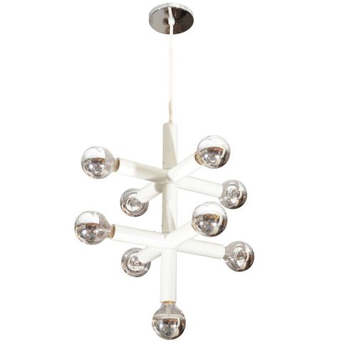 Five Arm Lightolier Chandelier