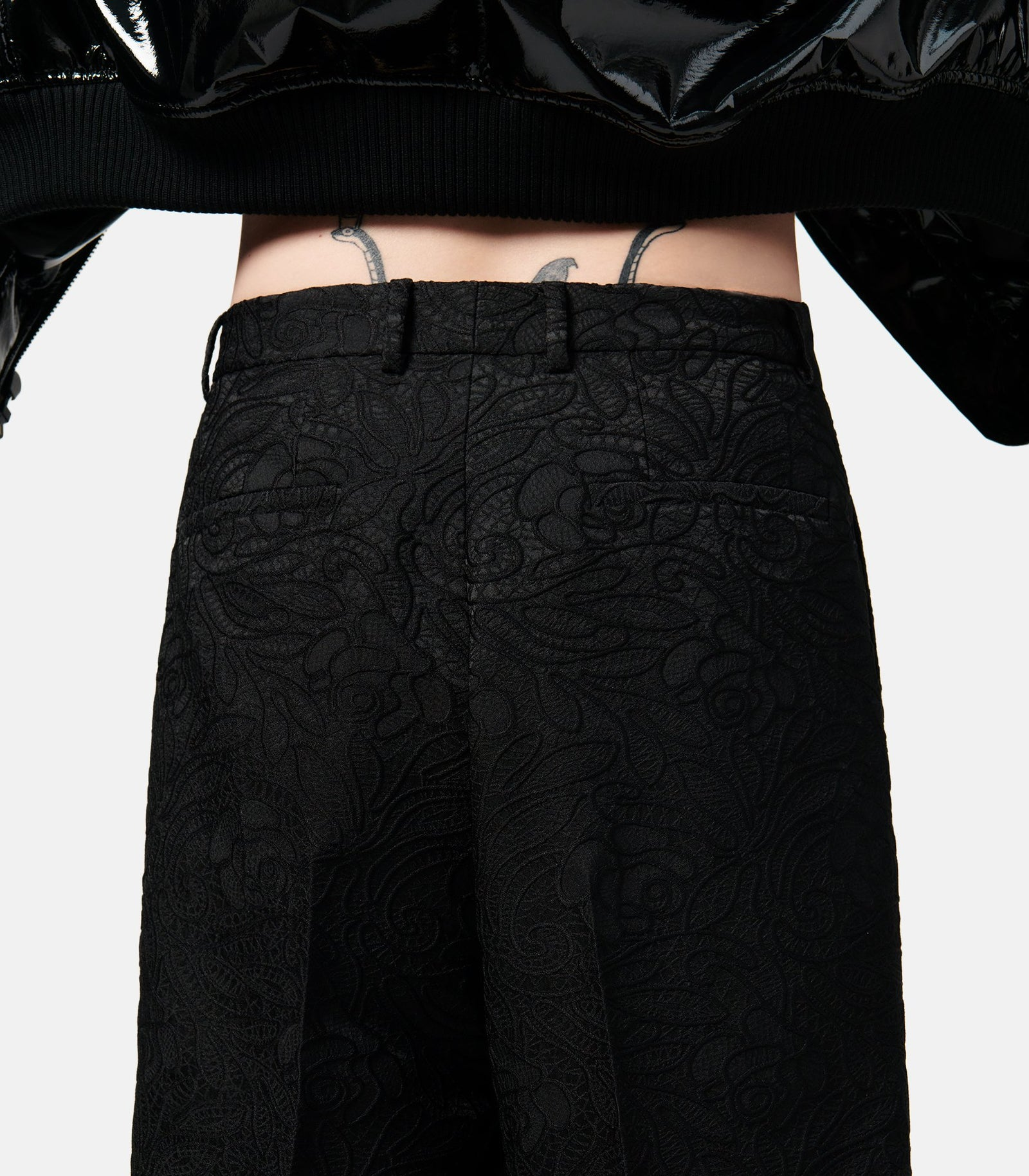 Lace Tailoring Trousers
