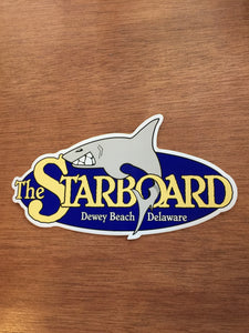 Large Starboard Sticker