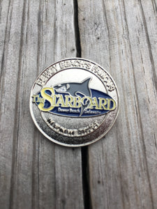 The Starboard Enamel Pin