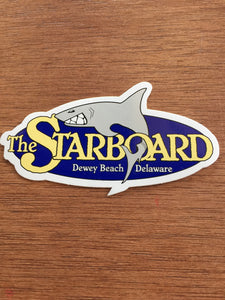 Small Starboard Sticker