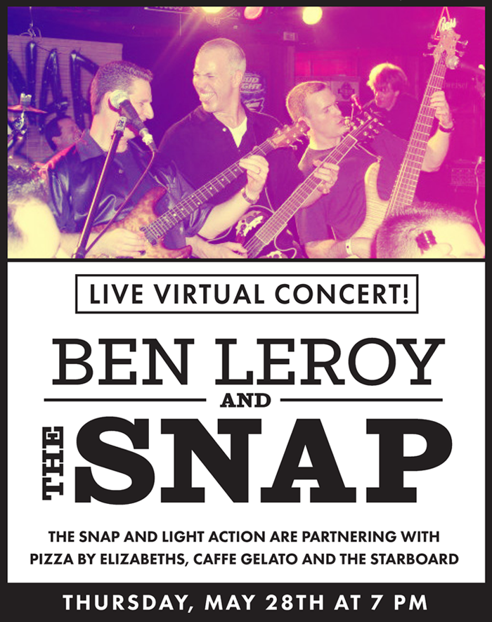 Live Virtual Concert with Ben LeRoy and the Snap!