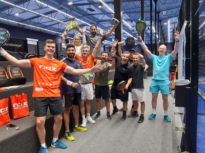 Improve your padel with Miguel Lamperti (December 4th 2020, Sweden)
