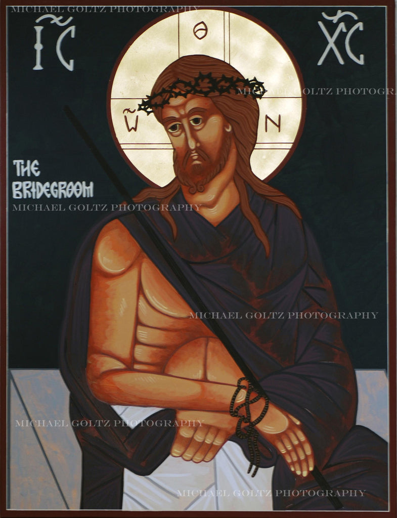 Christ the Bridegroom Handpainted 18x24 Icon