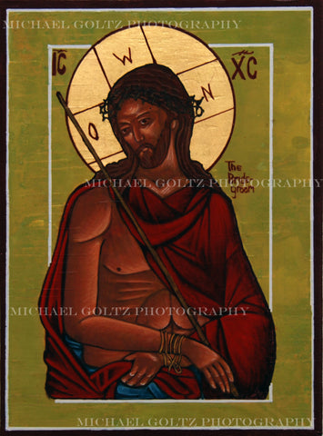 Christ the Bridegroom (old) Handpainted 9x12 Icon