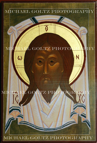 Holy Mandylion Handpainted 12x18 Inch Icon