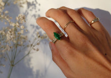 Load image into Gallery viewer, Marquise Jade Diamond Ring