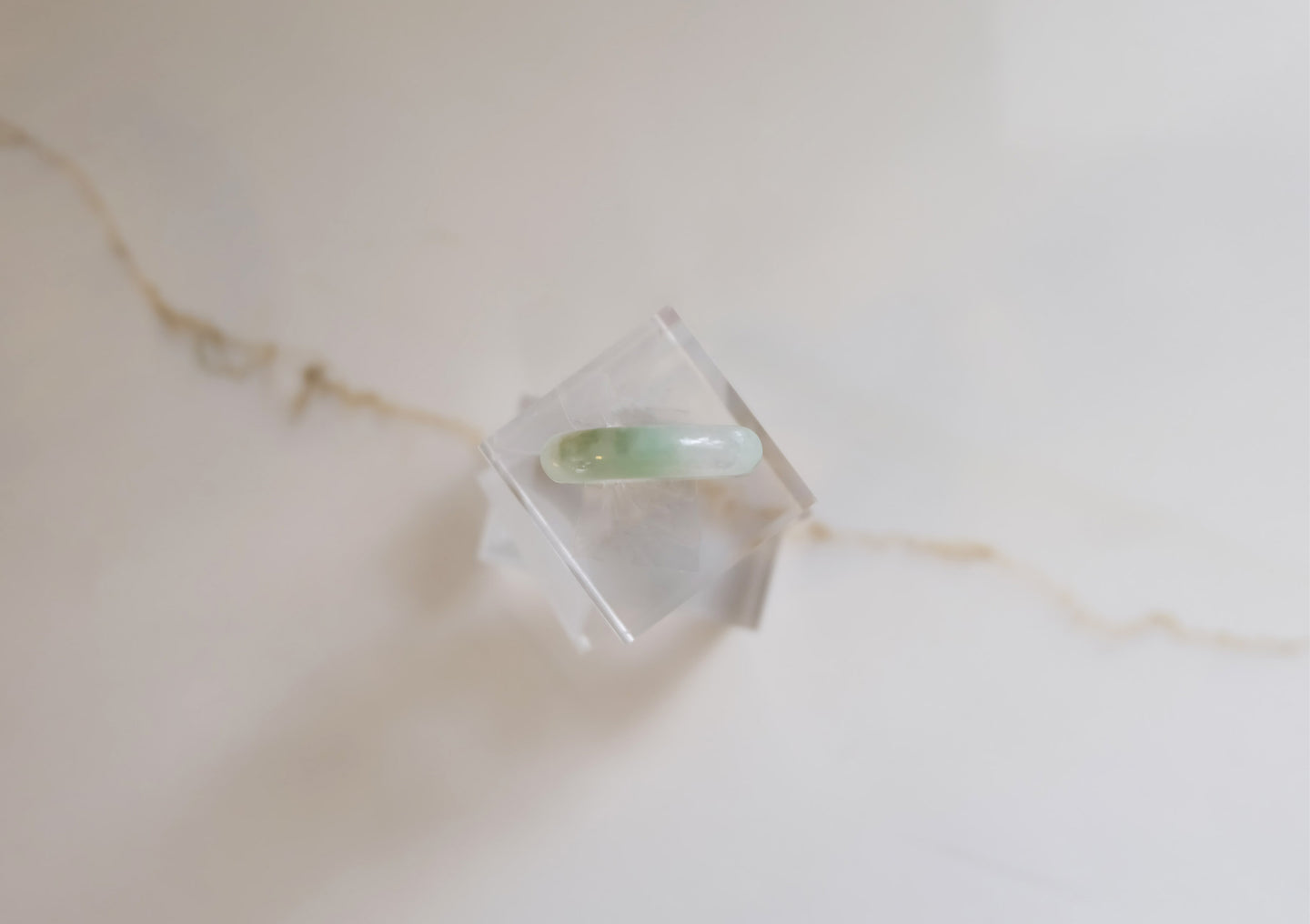 Carved Jadeite Ring I
