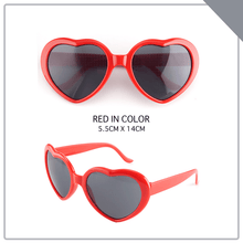 Load image into Gallery viewer, Refraction Heart Lenses Glasses