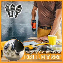 Load image into Gallery viewer, Mighty Countersink Drill Bit Set