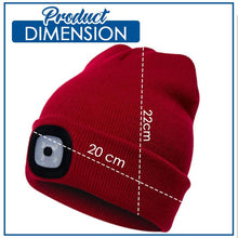 Load image into Gallery viewer, Stylish LED Beanie Hat