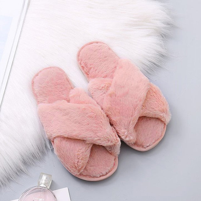 Comfy Open Toe Slippers