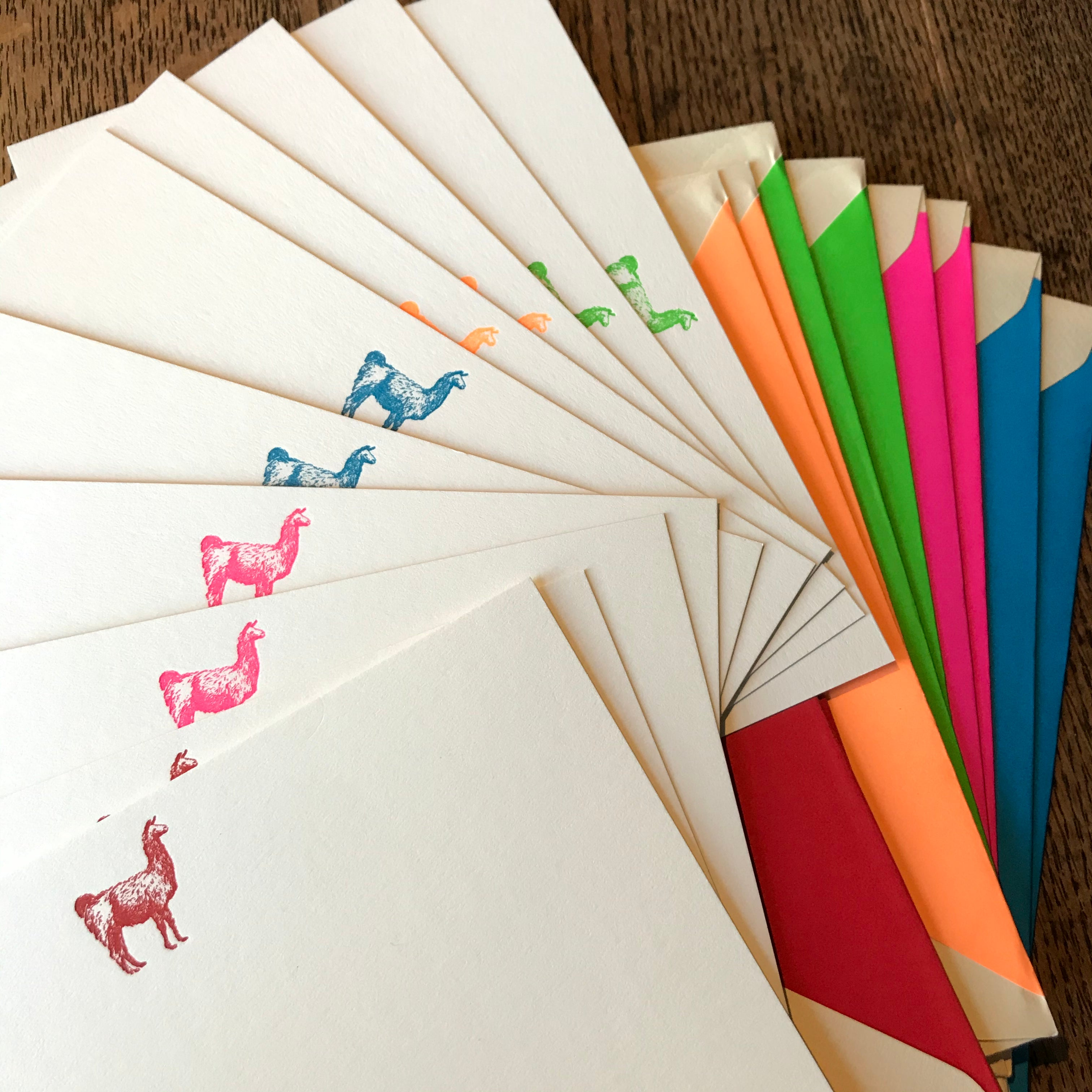 Camelid Correspondence Cards