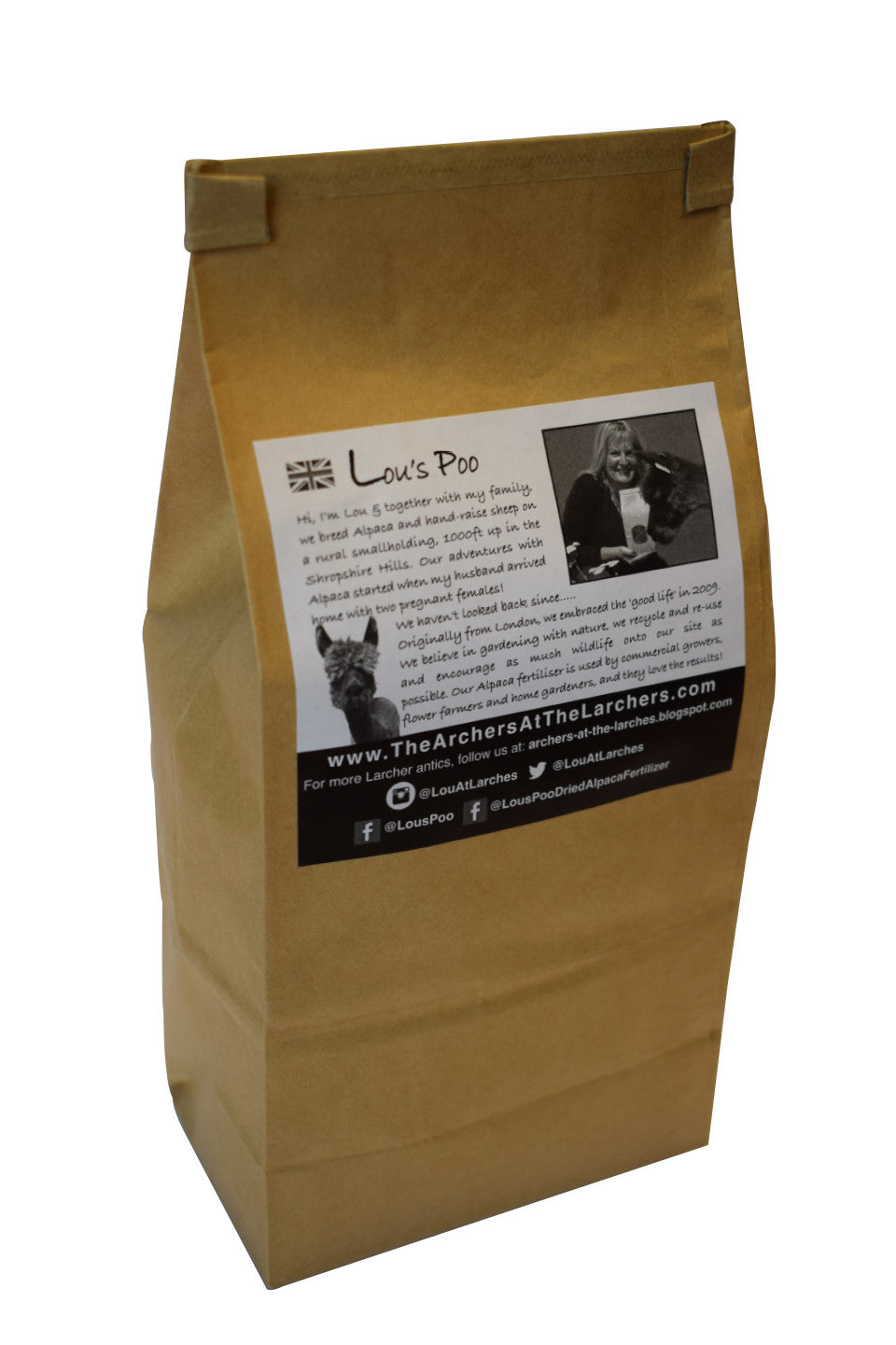 Lou's Poo, Compost Tea Mix 350g (Fertiliser)