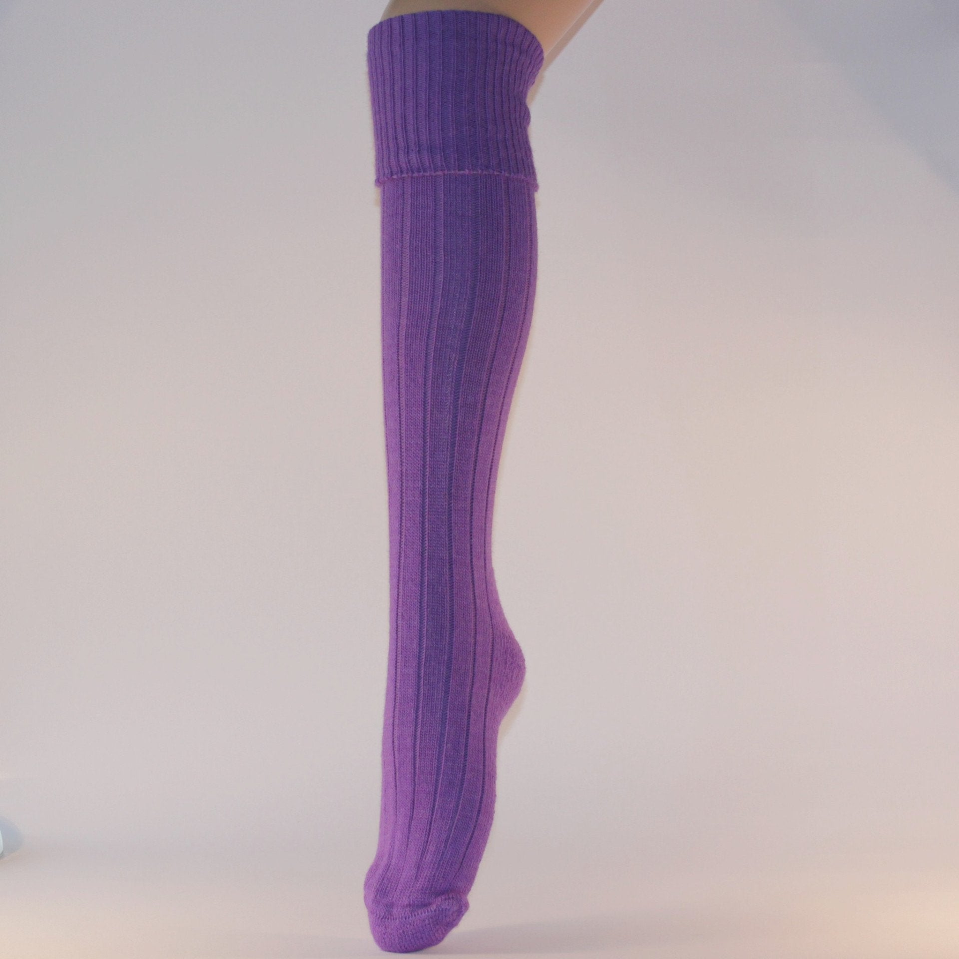 Alpaca Knee Length Luxury Socks